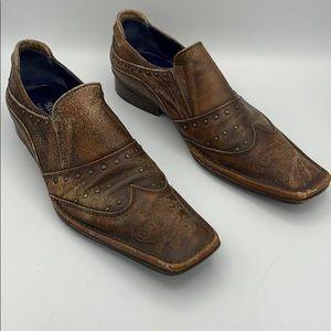 "Mark Nason ""Rock Lives"" shoe men's SZ 10"